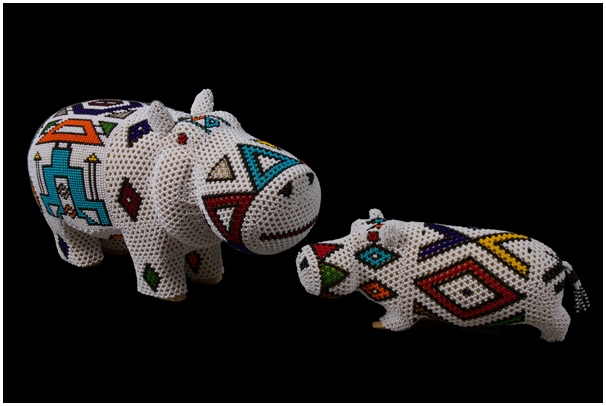 Ndebele-Beaded-Hippo2