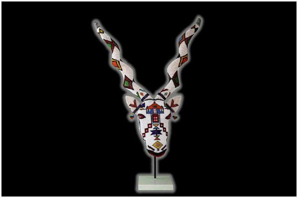 Ndebele Beaded Kudu