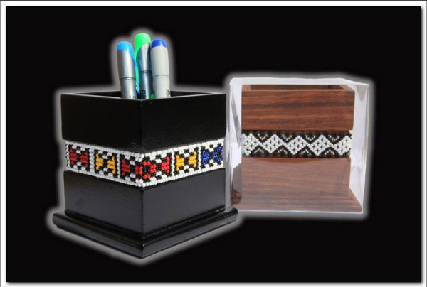 Ndebele Pen Holder