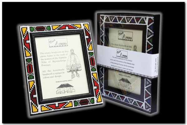 Ndebele Photo Frames