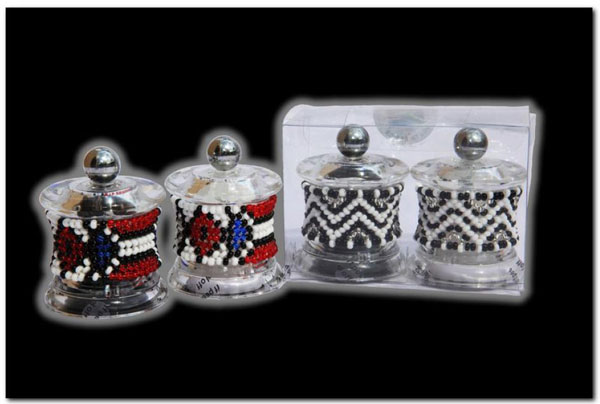 Ndebele Salt Pepper Grinder