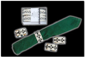 Silver Plated Serviette Rings