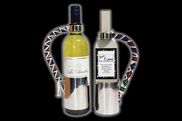 Ndebele Wine Bottle Holder